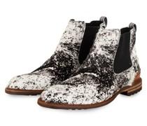 Chelsea-Boots - WEISS/ SCHWARZ