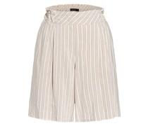 Shorts mit Glitzergarn