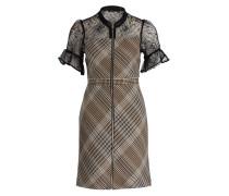 Kleid RHODIN - hellbraun/ schwarz