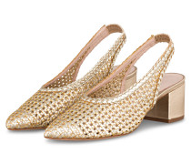 Slingpumps - GOLD