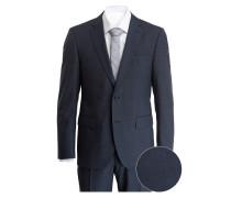 Anzug BRICE-DAMIEN Slim-Fit - blau/ grau