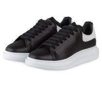 Plateau-Sneaker - SCHWARZ/ WEISS