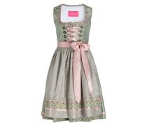 Dirndl - grün/ rosa