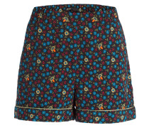 Shorts - schwarz/ blau/ gelb