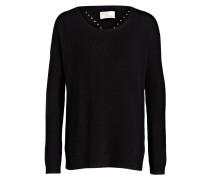 Cashmere-Pullover mit Ajourdetails