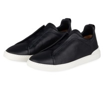 Slip-on-Sneaker TRIPLE STITCH - DUNKELBLAU