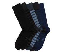 5er-Pack Socken in Geschenkbox