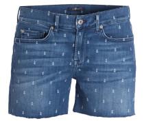 Jeans-Shorts SLOUCHY - blau
