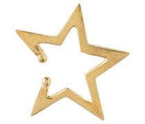Earcuff SKEWED STAR - gold