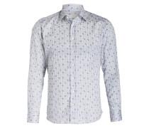 Hemd Regular-Fit - weiss/ blau