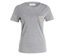 T-Shirt TROCAD - grau meliert