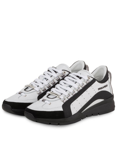 Sneaker 551 - WEISS/ DUNKELGRAU