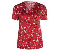 T-Shirt LECINA - rot/ schwarz/ weiss