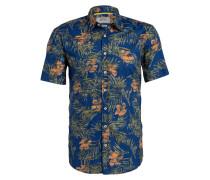 Halbarm-Hemd DAVE Regular-Fit - blau