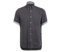 Halbarm-Hemd Regular Fit aus Leinen