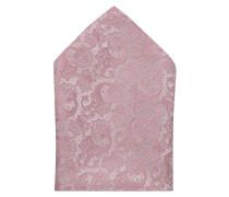 Einstecktuch - rosa