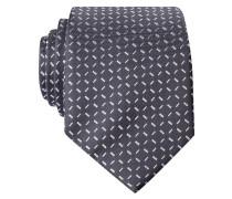 Krawatte - grau/ hellgrau