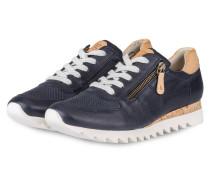 Sneaker - marine/ beige/ weiss