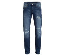Destroyed-Jeans GENO Relaxed Slim-Fit