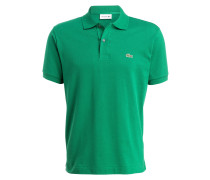 Piqué-Poloshirt Classic-Fit - grün