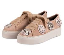 Sneaker - rosé/ gold