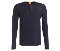Henley-Pullover KOASTLES - blau