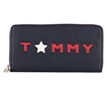 Geldbörse TOMMY - dunkelblau/ rot
