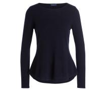 Cashmere-Pullover - dunkelblau