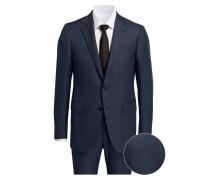 Anzug TORINO DROP 8 Slim-Fit - blau