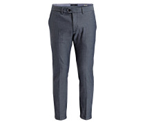 Chino MOTT Super Slim-Fit - blau/ grau