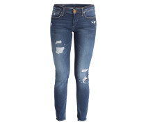 Skinny-Jeans HALLE - destroyed blue