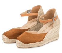 Wedges CACERES - braun