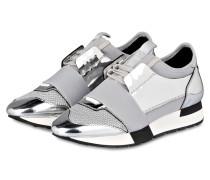 Sneaker - silber metallic/ grau