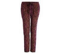 Pyjamahose TYLER - schwarz/ pink/ beige