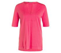 Pullover mit Seidenanteil - pink