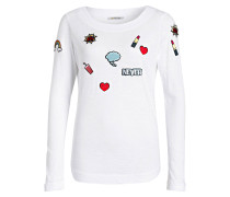 Longsleeve mit Patches