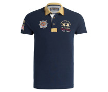 Piqué-Poloshirt BRICENO Slim-Fit - navy