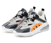 Sneaker AURA OTTER - WEISS/ ORANGE/ GRAU