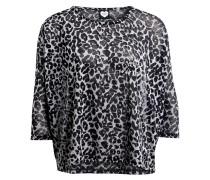 Shirt mit 3/4-Arm - schwarz/ dunkelgrau