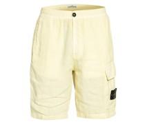 Cargo-Shorts aus Leinen