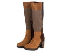 Stiefel CAPOEIRA - cognac/ beige/ braun