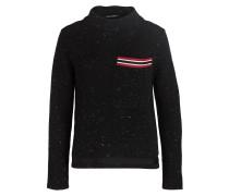 Pullover - schwarz meliert