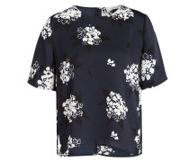 T-Shirt GLORIA - blau/ offwhite