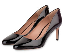 Lack-Pumps STAPLE - schwarz