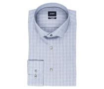 Hemd EARL1 Extra Slim-Fit - blaugrau