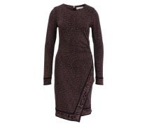 Kleid - schwarz/ braun