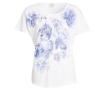 T-Shirt - weiss/ blau