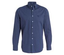 Hemd Regular-Fit - navy/ blau/ ecru