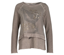 Sweatshirt - taupe
