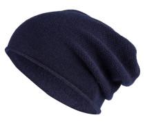 Cashmere-Mütze - marine